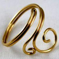 кольцо из проволоки мастер класс5
