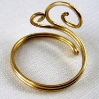 кольцо из проволоки мастер класс7
