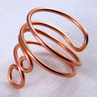 кольцо из проволоки мастер класс9