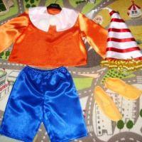 Новогодний костюм Буратино своими руками8