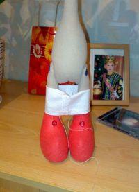 Кукла Снежка - мастер-класс27