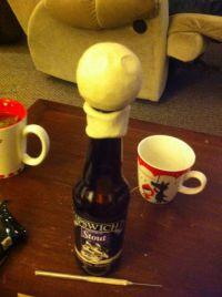 Кукла из бутылки своими руками6