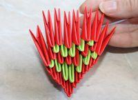 Модульное оригами - дракон37
