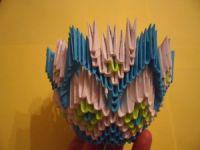 Модульное оригами - конфетница27
