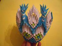 Модульное оригами - конфетница33