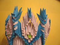 Модульное оригами - конфетница35
