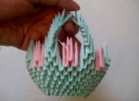 модульное оригами корзинка мастер класс11