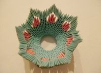 модульное оригами корзинка мастер класс13