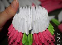 Модульное оригами - кошка30