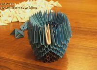 модульное оригами сова11
