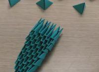 Модульное оригами  - тюльпан17
