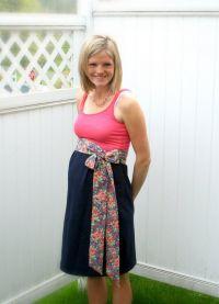 Платье для беременных своими руками24