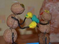 Поделки из скорлупы грецкого ореха29