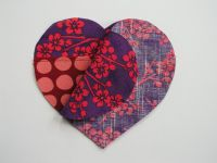 Сердечки из ткани своими руками11