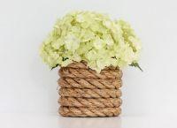 ваза из банки своими руками17