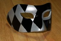Венецианские маски своими руками12