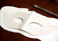 Венецианские маски своими руками16