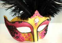 Венецианские маски своими руками21