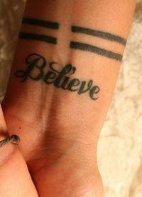 Татуировки для девушек на запястье 4