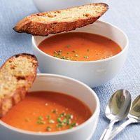 Томатный суп вегетарианский
