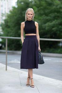 топ и юбка с завышенной талией 2015 4