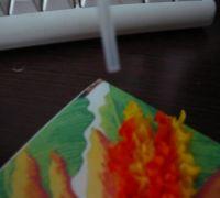 торцевание из гофрированной бумаги картины62