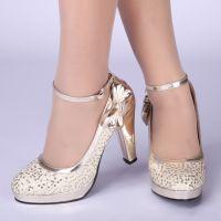 Туфли на широком каблуке 2