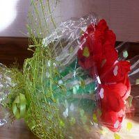 тюльпаны из гофрированной бумаги 17