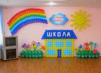 Украшение зала на выпускной в детском саду 2