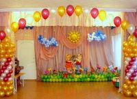 Украшение зала на выпускной в детском саду 3