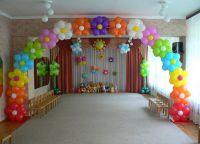 Украшение зала на выпускной в детском саду 4