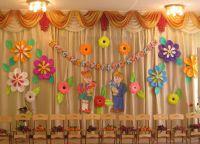 Украшение зала на выпускной в детском саду 8