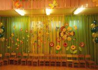 Украшение зала на выпускной в детском саду 9
