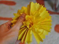цветы из салфеток своими руками_5
