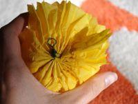 цветы из салфеток своими руками_7