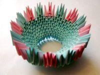 поделки из модулей оригами легко 10