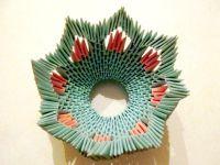 поделки из модулей оригами легко 11