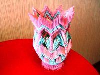 поделки из модулей оригами легко 13