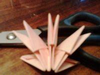 поделки из модулей оригами легко 15