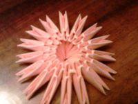 поделки из модулей оригами легко 16