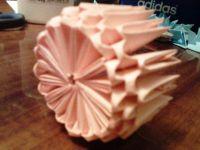 поделки из модулей оригами легко 17