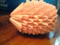 поделки из модулей оригами легко 19