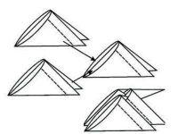 поделки из модулей оригами легко 5