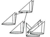 поделки из модулей оригами легко 6