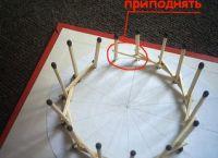 поделки из спичек без клея 7