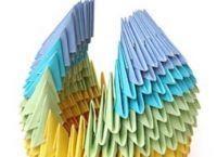 поделки из треугольных модулей фото 22