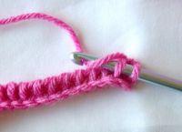 Тунисское вязание крючком 13