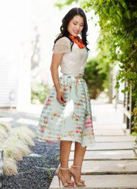 юбка из штапеля9