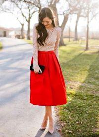 юбки мода 2015 7