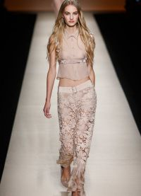 женские брюки тенденции 2015 16